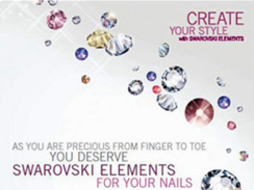 SWAROVSKI CRYSTALS FOR NAILS