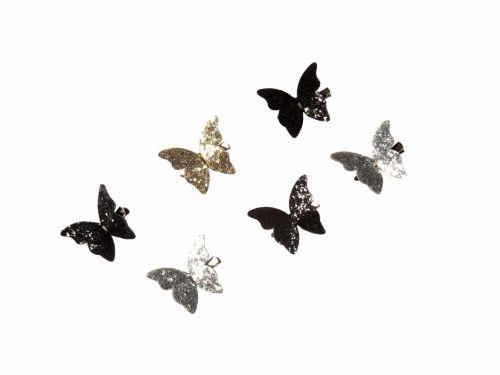 Παιδικό Κλιπ Πεταλούδα Glitter
