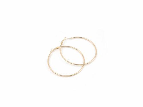 Σκουλαρίκι Κρίκος Χρυσός 60mm