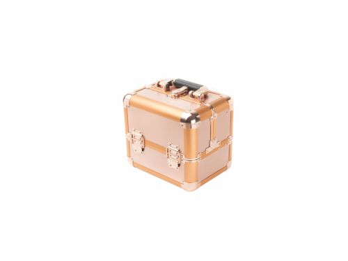 Επαγγελματικό Βαλιτσάκι Καλλυντικών Ροζ-Χρυσό