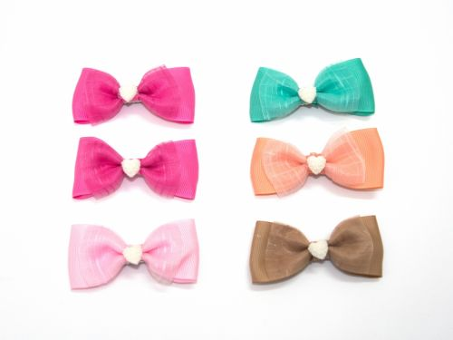 Children Bow Clip Colors