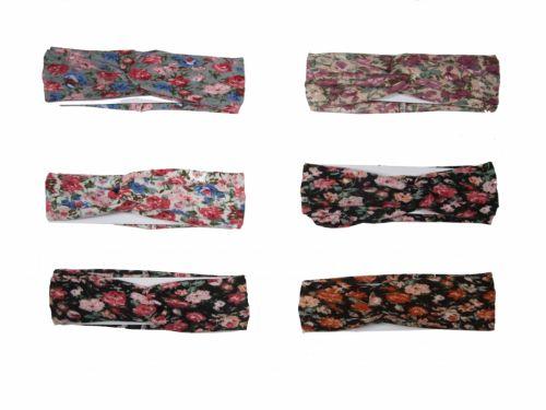 Children Headband Floral Printing