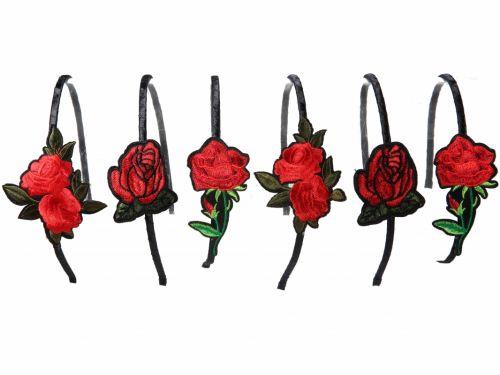 Στέκα με διακοσμητικό Κόκκινο Τριαντάφυλλο