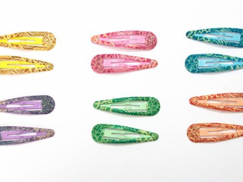 Κλικ κλακ Χρώματα Glitter 7 cm σετ 2 τμχ
