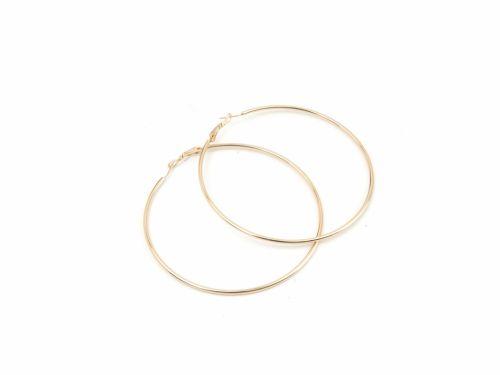 Σκουλαρίκι Κρίκος Χρυσός 80mm