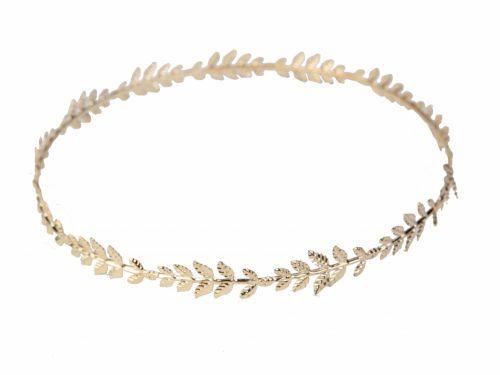 Αρχαιοελληνικό Στεφάνι με Χρυσά φύλλα