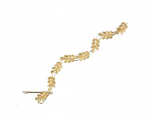Νυφικό Αξεσουάρ με Τσιμπιδάκι χρυσό