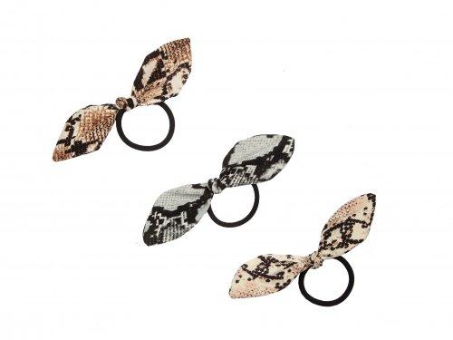 Λάστιχο μόδας snake print