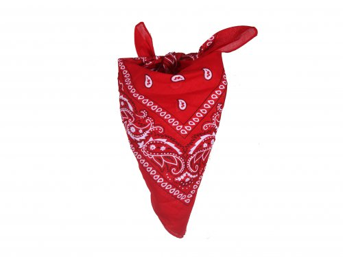 Headband Bandana Red