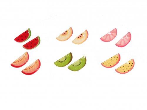 Clip for Girls Fruits, set 2 pcs