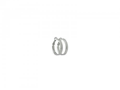 Σκουλαρίκι Κρίκος Ασημί 25 mm