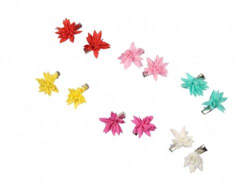 Παιδικό Κλιπ Λουλούδι, σετ 2 τμχ