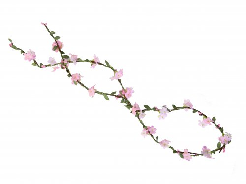 Κορδέλα σχοινί με λουλούδια