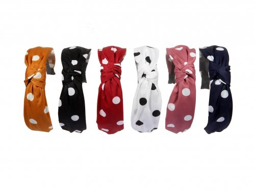 Fashion aliceband dots