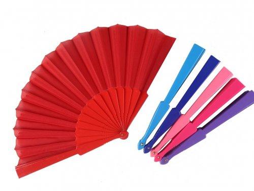 Βεντάλια Πλαστική Χρώματα