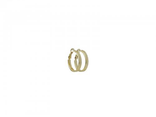 Σκουλαρίκι Κρίκος Χρυσός 25 mm