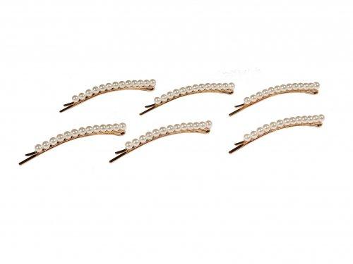 Τσιμπιδακι με Πέρλες 8cm