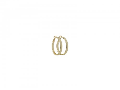 Σκουλαρίκι Κρίκος Χρυσός 30 mm