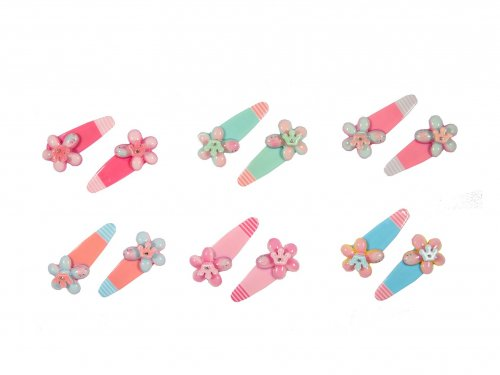 Παιδικό Κλικ Κλακ Λουλούδι, σετ 2 τμχ