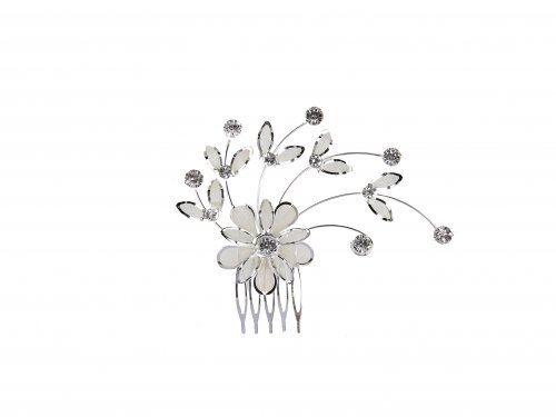 Νυφικό χτενάκι λουλούδι