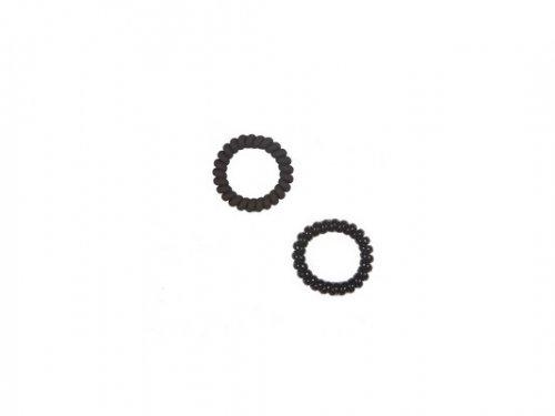 Λάστιχο μαλλιών  Kαλώδιο μαύρο 5 cm