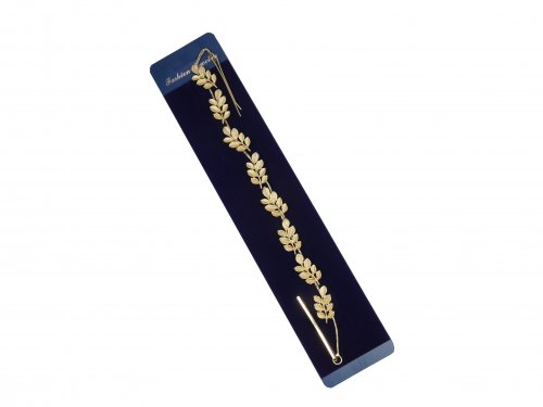Νυφικό Αξεσουάρ με Τσιμπιδάκι Χρυσό 28 cm