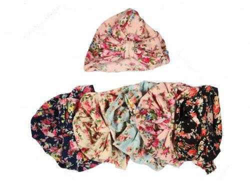 Παιδικό τουρμπάνι floral